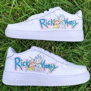 Nike Air Force 1 Rick and Morty Sneaker men's